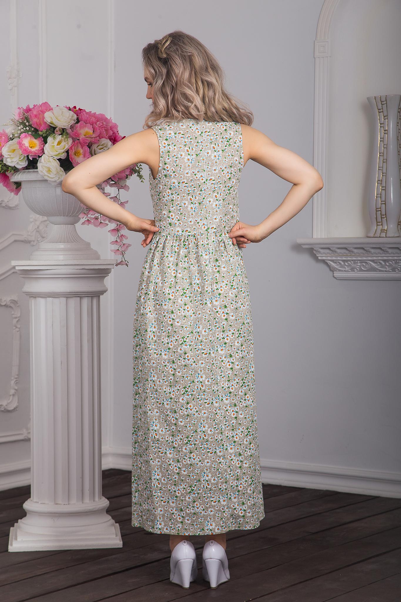 Вид сзади Платье Добродея