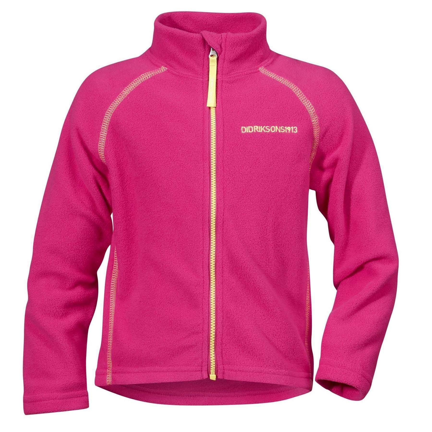 Куртка для детей Didriksons Monte kids - Fuchsia (розовый)
