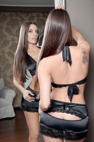 Комплект белья Anigue черный размер 42-44 2700-42-44