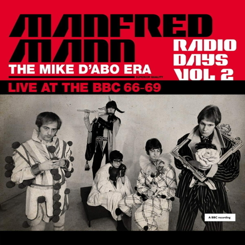 Manfred Mann / Radio Days Vol. 2 - The Mike D'Abo Era, Live At The BBC 66-69 (3LP)