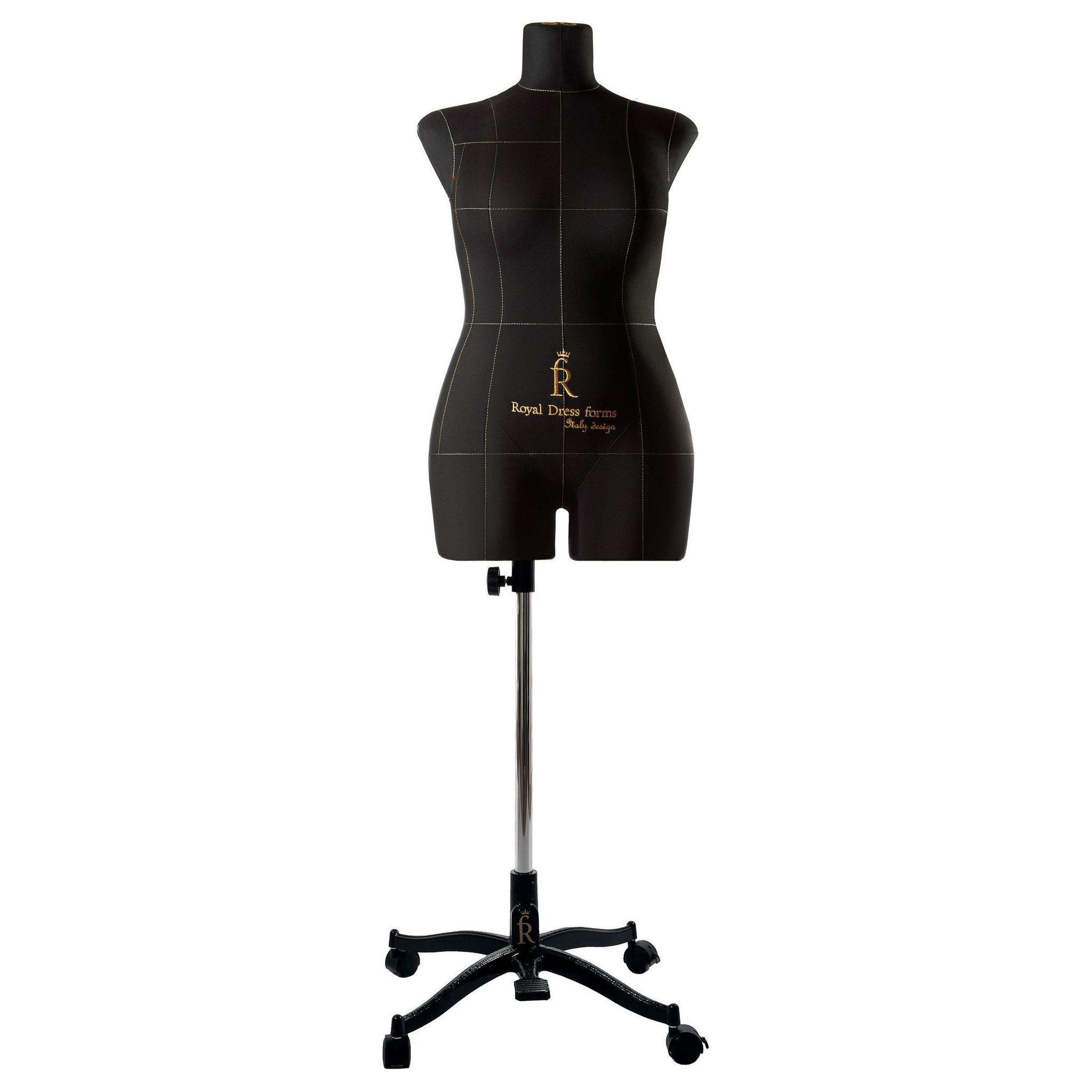 Манекен портновский Моника, комплект Премиум, размер 50, ЧерныйФото 3
