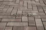 Тротуарная плитка STEINGOT Паркет 240х80х60 (ШТАЙН СИЛЬВЕР)