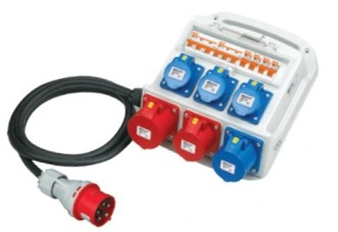 РУСПн кабель 2,2 м х 025 - 3х413+1х423+1х415+1х425 IP54 TDM