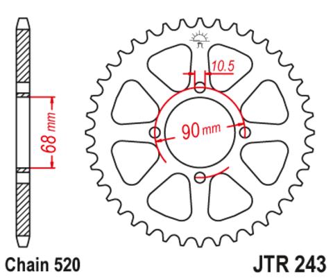 JTR243