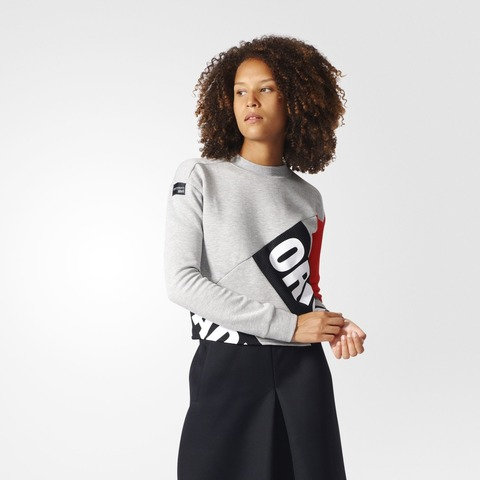 Свитшот женский adidas ORIGINALS SWEATSHIRT