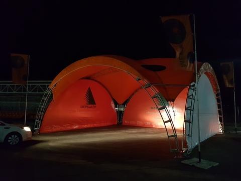Арочный шатер 10х10 «Дюна»