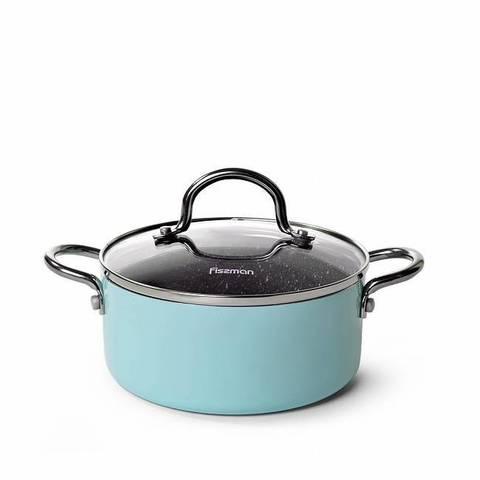 4257 FISSMAN Mini chef Кастрюля 18 см / 1,8 л с крышкой,  купить
