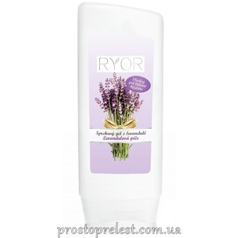 Ryor Lavender Body Gel - Гель для душу з лавандою