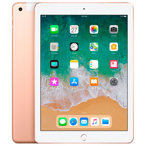 iPad (2018) 32GB Wi-Fi+Cellular Gold