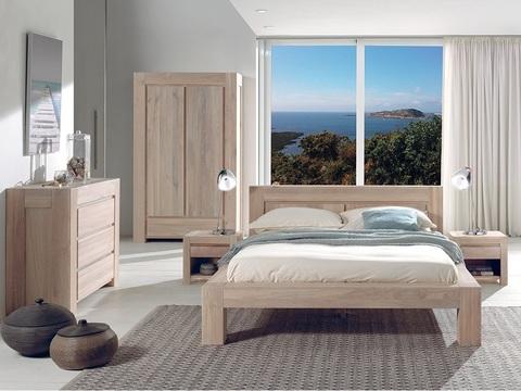 Набор мебели для спальни из дуба Бъерн