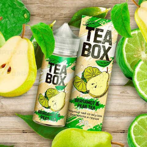 Жидкость Tea Box 120 мл Bergamot & Pear Tea
