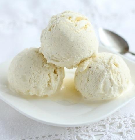 Мороженое внильное