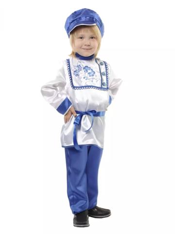 Карнавальный костюм Гжель