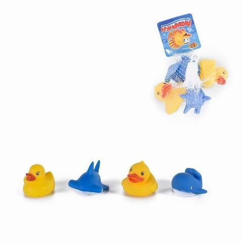 Игрушки в ванну (брызгалки) «Акварики»