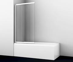 Шторка для ванны WasserKRAFT Main 41S02-100 универсальная