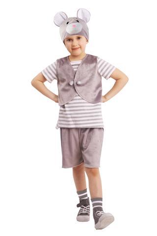 Карнавальный костюм детский Мышонок Масик
