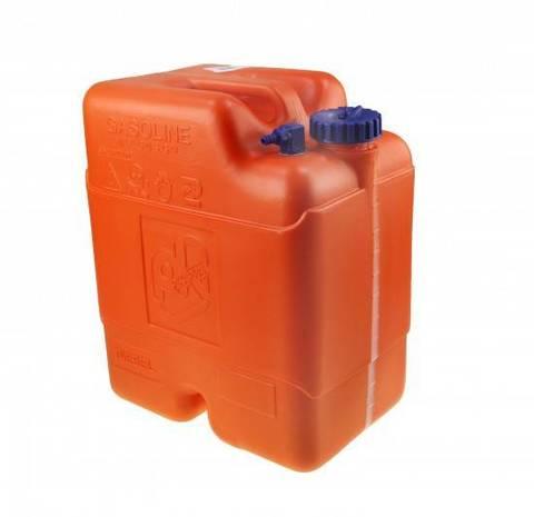 Бак топливный Can-SB 22 л. без указателя уровня топлива, с переходником