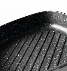 Сковорода- гриль со съемной ручкой серая 24 см