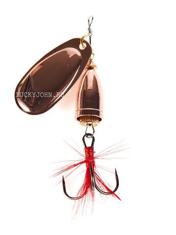 Блесна вращающаяся Lucky John Bell Spin №1, 3.5 г, цвет C