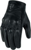 Мотоперчатки - ICON PURSUIT (перфорированные, черные)
