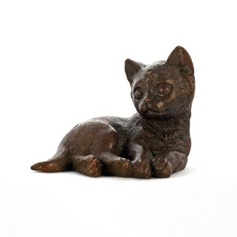 Бронзовый котёнок