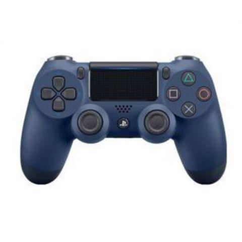 Беспроводной контроллер DualShock 4 (темно-синий, Midnight Blue, 2ое поколение)