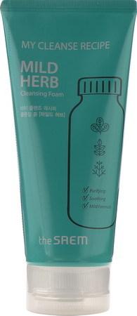 Пенки для умывания Пенка для умывания упокаивающая My Cleanse Recipe Cleansing Foam-Mild Herb 150мл 149942.jpg