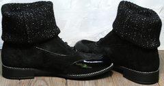 Ботинки оксфорды женские купить Kluchini 5161 k255 Black