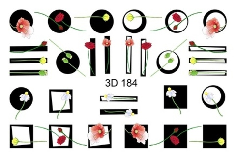 3D слайдер для ногтей, 3D - 184