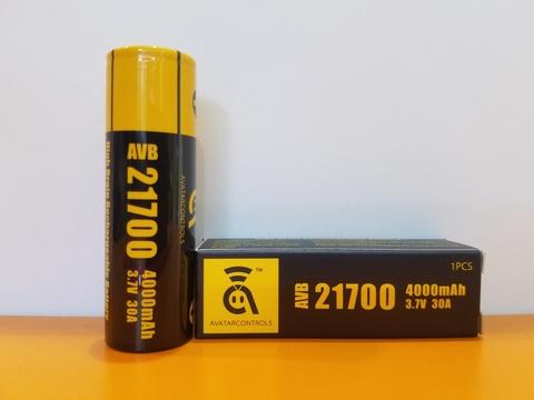 Аккумулятор 21700 Avatar AVB 4000 mAh 30A