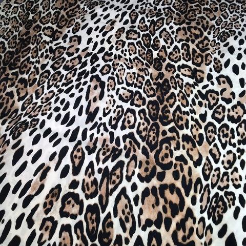 Ткань вискоза леопард 3119