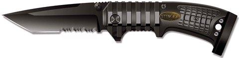 Нож Stinger, 90 мм, черный