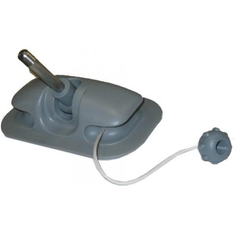 Уключина поворотная 150х95 мм для надувн.лодок