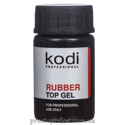 Kodi Professional Rubber Top Gel - Финишное покрытие (без кисточки)