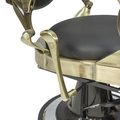 Барбер кресло Ричард каркас полированный, медного цвета