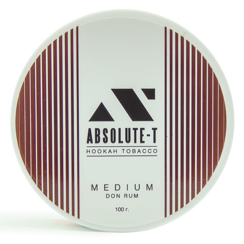 Табак Absolute-T Med 100гр Don Rum