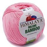 Пряжа Himalaya Deluxe Bamboo 124-07 розовый