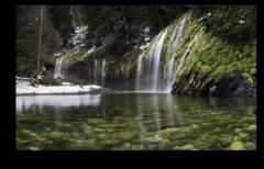 """Постер """"Весенний водопад"""""""