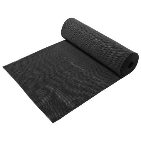 Коврик-дорожка против скольжения Zig-Zag, черный, 5 мм, 0,9*10 м
