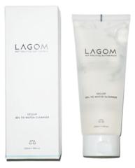 LAGOM Cellup Gel to Water Cleanser очищающий гель для умывания 220мл