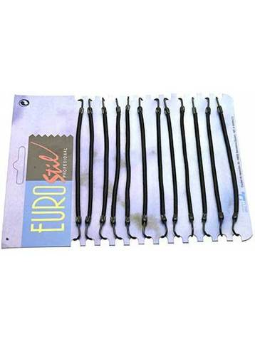 Резинки с крючками черные