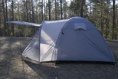 Палатка кемпинговая Talberg Tower 4 зеленый - 2