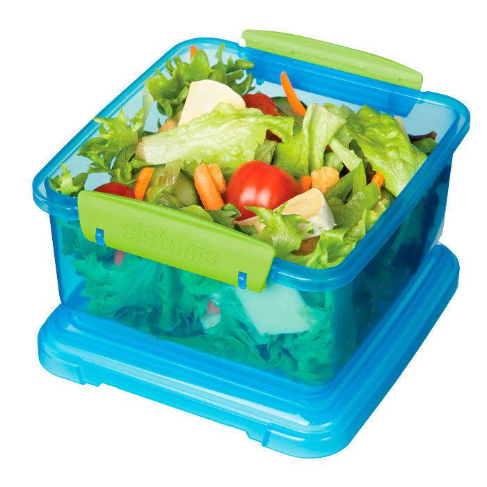 """Контейнер пищевой Sistema """"Lunch"""" 1,2 л, цвет Голубой"""