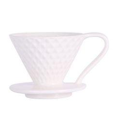 Воронка-пуровер для кофе Mojae 02, белая