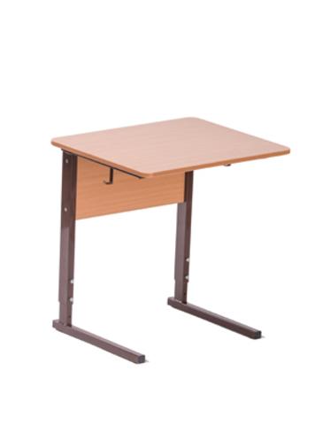 Стол ученический регулируемый на квадратной трубе