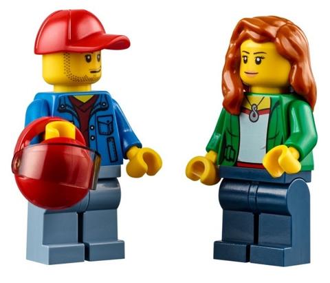 LEGO City: Перевозчик песчаного багги 60082 — Dune Buggy Trailer — Лего Сити Город