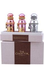 ALEXANDRE.J Набор The Collector 3 шт. по 30 мл.