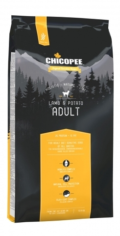 Chicopee HNL Adult Lamb & Potato корм для взрослых собак с ягненком и картофелем 12 кг