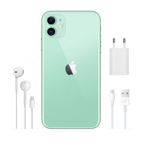 Смартфон Apple iPhone 11 64GB Green (зеленый) РОСТЕСТ