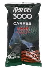 Прикормка Sensas 3000 CARP Rouge 1кг